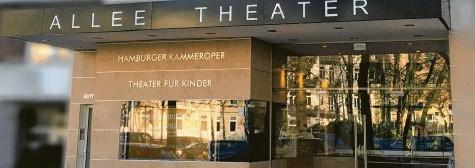 ?? Fotos: Allee Theater, dpa ?? Im Allee Theater in Hamburg kommen Stücke für Kinder auf die Bühne.