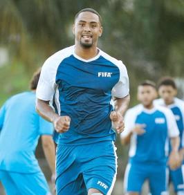 ??  ?? El delantero boricua del Puerto Rico Football Club, Héctor Ramos.