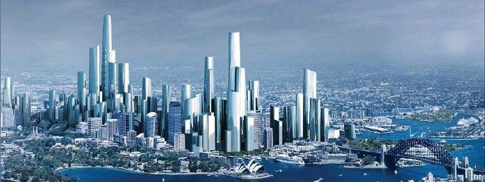??  ?? How the Sydney skyline will look with taller skyscrapers