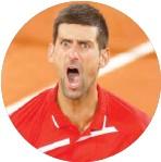 ??  ?? Novak Djokovic