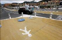??  ?? La Ville de Nice a annoncé hier soir des « ajustements » àla suite de la piétonnisation du quai Lunel entrée en vigueur le  mai. (Photo Éric Ottino)