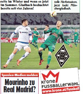 ??  ?? Für Rapid spielte Florian Kainz eine tolle Herbstsaison. Jetzt lockt Mönchengladbach.