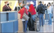 """?? ALEXA WELCH EDLUND/ TIMES-DISPATCH ?? Although recent passenger activity at Richmond International has improved, an official says traffic""""is a far cry froma year ago."""""""