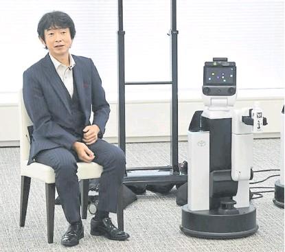 ?? Toyota / tokyo motor show ?? Los robots que brindarán ayuda informativa en los estadios