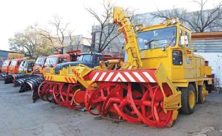 ??  ?? Для работы в сложных зимних условиях подготовлены 146 единиц техники.