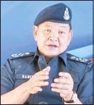 ??  ?? 阿都哈密 全國警察總長