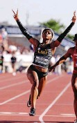 ?? | ERIC GAY AP ?? SHA'CARRI Richardson leads US hopes in the women's 100m.