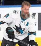 ?? PERRY NEL­SON/USA TO­DAY SPORTS ?? Af­ter 15 sea­sons with the Sharks, Joe Thorn­ton will play for the Maple Leafs.