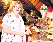 ??  ?? Guest Leoni Starker-Fox at the Melomed Cuppa for Cansa High tea