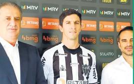 ??  ?? Nacho Fernández, con la camiseta del Galo.