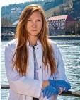 ?? Foto: Dieter Groneberg ?? Amelie Reigl ist 26 Jahre alt und promo‰ viert in Biologie.