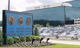 ?? Bild: Patrick Semansky ?? Spionerar på allt och alla. Amerikanska underrättelsetjänsten NSA ska ha spionerat på folkvalda politiker i bland annat Sverige och Danmark.