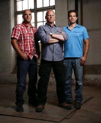 ??  ?? Bryan Baeumler, Mike Holmes and Scott McGillivray all have popular renovation TV shows on HGTV.