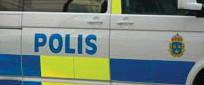 ?? FOTO: LEIF OLDENBURG ?? LARM. Polisen fick larm om en berusad man som höll på att bli påkörd av en buss, men mannen hittades aldrig. Arkivbild.