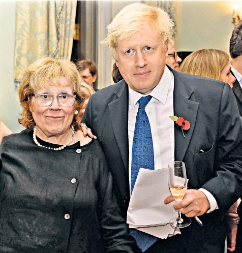 """??  ?? The Prime Minister was last night mourning the death of his mother, Charlotte Johnson Wahl, 79, whom he has described as the """"supreme authority"""" in his family"""