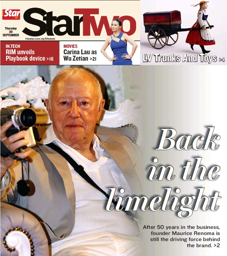 a088c58c9c5 PressReader - The Star Malaysia - Star2  2010-09-30 - Back in the ...