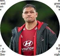 ??  ?? Loose forward Whetukamokamo Douglas reflects on the Crusaders' failure to reach the Trans-Tasman final.