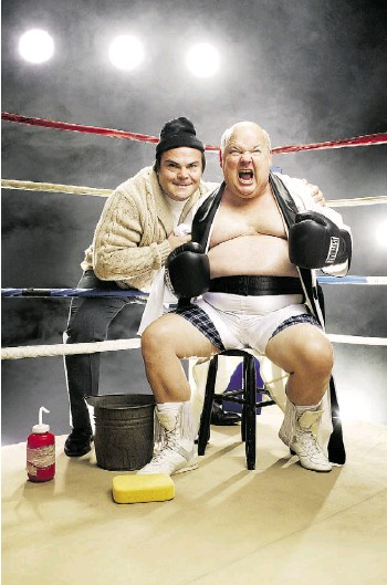 ?? MICHAEL ELINS ?? Tenacious D — Jack Black and Kyle Gass — bill themselves The Greatest Band in the World.