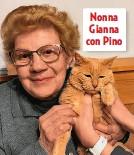 ??  ?? Nonna Gianna con Pino
