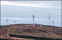 ?? 51_a18Windfarm02 ?? Windfarms have grown in number and height since their introduction in the 1990s.