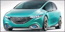 ?? — SUBMITTED SKETCHES ?? Honda's Concept C and Concept S are a departure from the company's usual conservative cars.