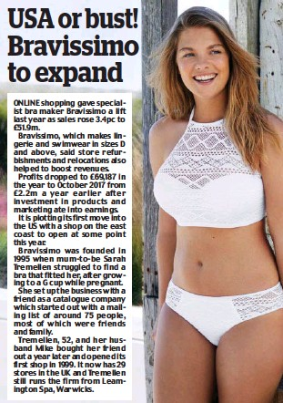 PressReader - Daily Mail  2018-08-09 - USA or bust! Bravissimo to expand 7980ef3ed82