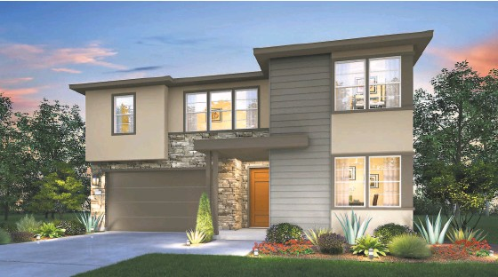 ?? SIGNATURE HOMES ?? Above: At Bristol in Rohnert Park, Signature Homes offers home designs with three to five bedrooms and up to 2,666 square feet of living space. Below: The community is located in Sonoma County near Wine Country vineyards.
