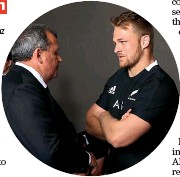 ??  ?? All Blacks coach Ian Fos­ter, left, and cap­tain SamCane both badly need a win this week­end.