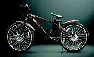 ??  ?? Called e-RideLite, this bicycle comes in two models, which through a single charge can go for 50 km and 90 km, respectively.