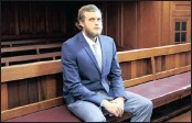 ?? PICTURE: LEON LESTRADE ?? Henri van Breda, 22, will stand trial in the Western Cape High Court for the murder of his parents and brother.