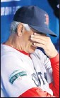 ?? By John E. Sokolowski, US Presswire ?? Aching heart: Manager Bobby Valentine's Red Sox are struggling.