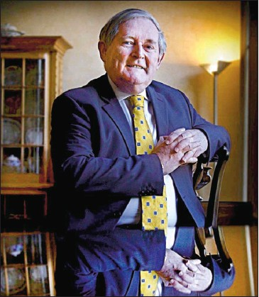 ?? Picture: Gordon Terris ?? REAPING DIVIDENDS: Sir Angus Grossart enjoyed £1.14m from his 81,676 shares.