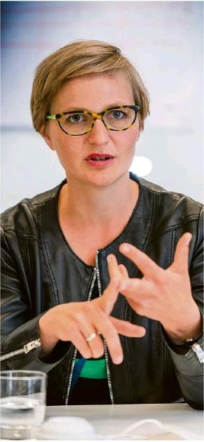 ??  ?? Einiges ändern und vieles besser machen, um Wohlstand zu erhalten: Grünen-Spitzenkandidatin Franziska Brantner.