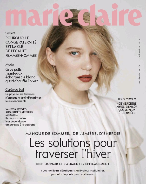 221c4189a72 PressReader - Marie Claire  2018-11-07 - Les solutions pour ...