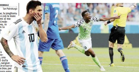 """?? Ansa ?? Ieri 2-0 all'Islanda Musa esulta per la doppietta di ieri contro i """"vichinghi"""""""