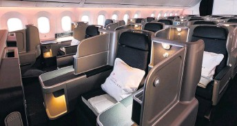 ?? PHOTO: SUPPLIED ?? Qantas has VantageXL seats in its Dreamliners and Airbus A330s.