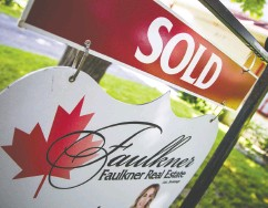?? ASHLEY FRASER / Postmedia ?? Although prices for condos in urban cores have seen a decline during the pandemic, single- detached homes and properties is suburban areas are in high demand.