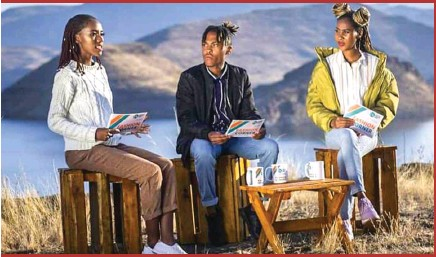 ??  ?? Local models during a Fashion Corner session in Mohale