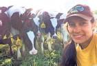 ??  ?? Thelma Heidel-Baker is the third generation to farm this land near Random Lake.