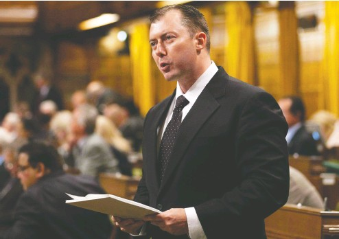 ?? Adrian Wyld / THE CANA­DIAN PRESS files ?? For­mer Con­ser­va­tive MP Rob Anders is due to ap­pear in a Cal­gary court on Oct. 30 on tax eva­sion charges.