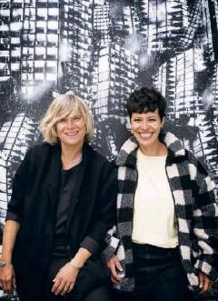??  ?? Mika Tard et Déborah Saïag. Ce tandem de scénaristes a gagné un procès pour faire reconnaître ses droits.