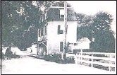 ?? CONTRIBUTED PHOTO ?? The Chester River Bridge Keeper's house circa 1902.