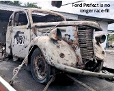 ??  ?? Ford Prefect is no longer race-fit