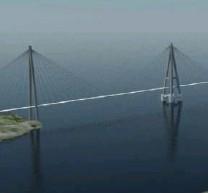 ??  ?? En utbedret og fergefri E39 er en politisk ambisjon, skriver prosjektleder Tore Askeland. Denne illustrasjonen viser et forslag til flytebro over Bjørnafjorden.