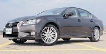 ?? PHOTOS: JOHN LEBLANC/POSTMEDIA NEWS ?? The Lexus GS 350 AWD has top-notch interior and seating.