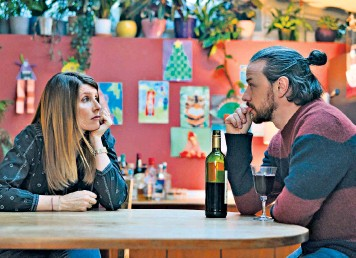 ??  ?? Sharon Horgan and James McAvoy are Together; Steve Pemberton (below, left) waves goodbye in the final episode of Inside No 9