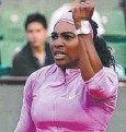 ??  ?? BLOW UP: Serena Williams.