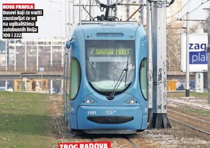 Novi Zagreb Ce Godinu I Pol Biti Bez Tramvaja Pressreader