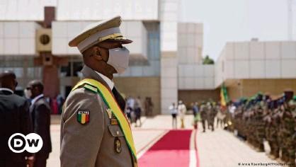 ??  ?? Assimi Goita is the Mali interim president