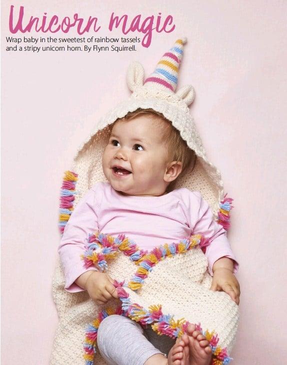 Pressreader Simply Crochet 2018 07 12 Unicorn Blanket